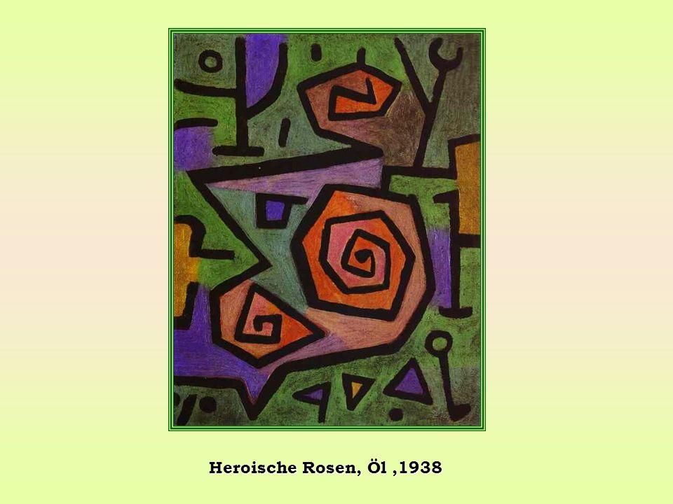Heroische Rosen, Öl,1938