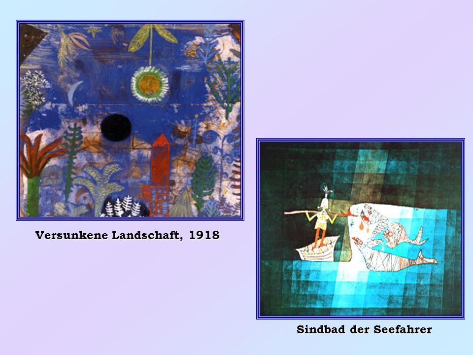 Seiltanzer Federpflanze, 1919