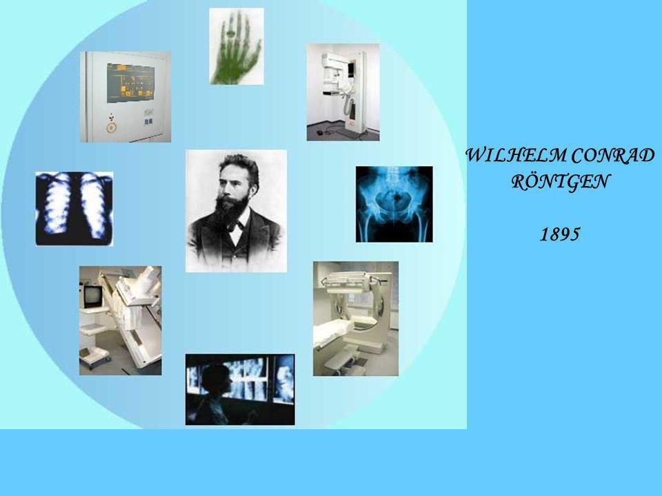 WILHELM CONRAD RÖNTGEN 1895