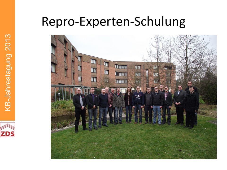 Repro-Experten-Schulung