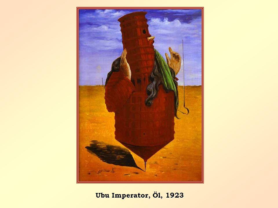 Ubu Imperator, Öl, 1923