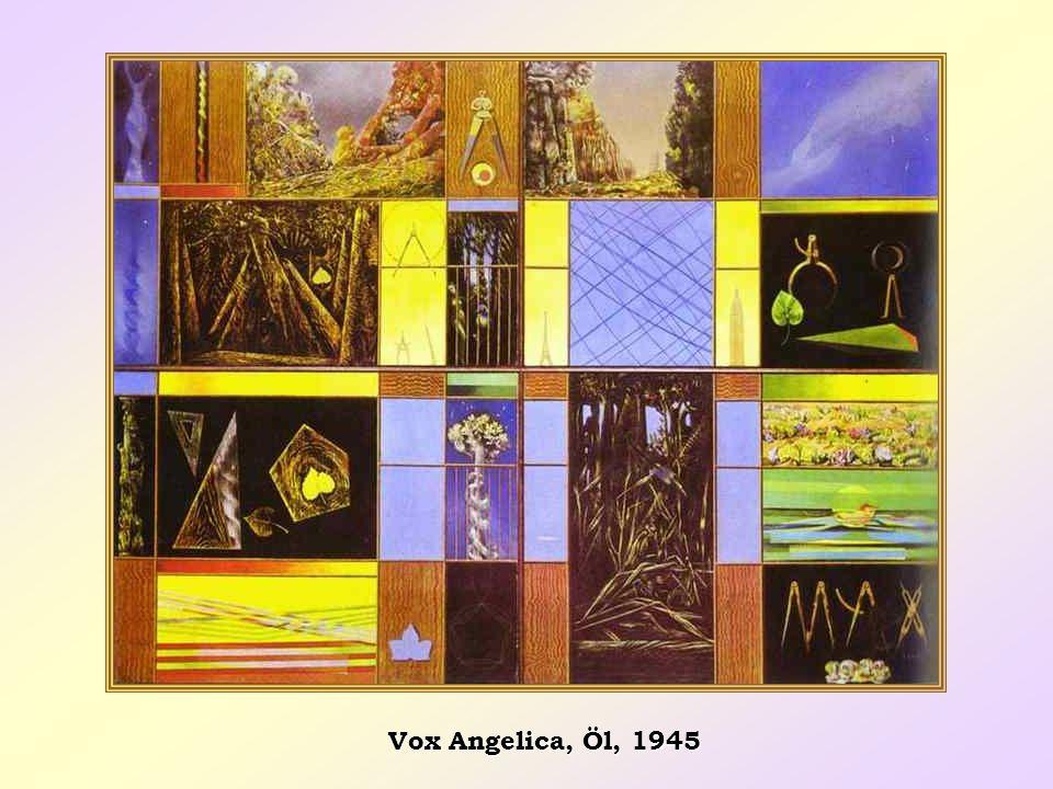 Vox Angelica, Öl, 1945