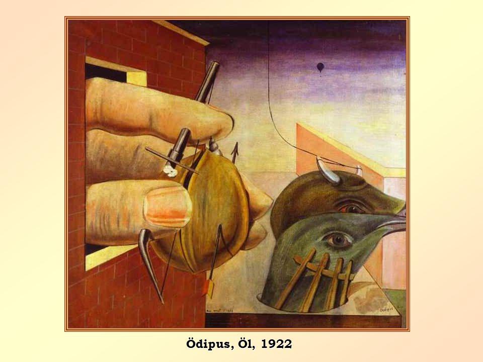 Ödipus, Öl, 1922
