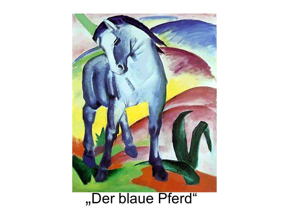Der blaue Pferd