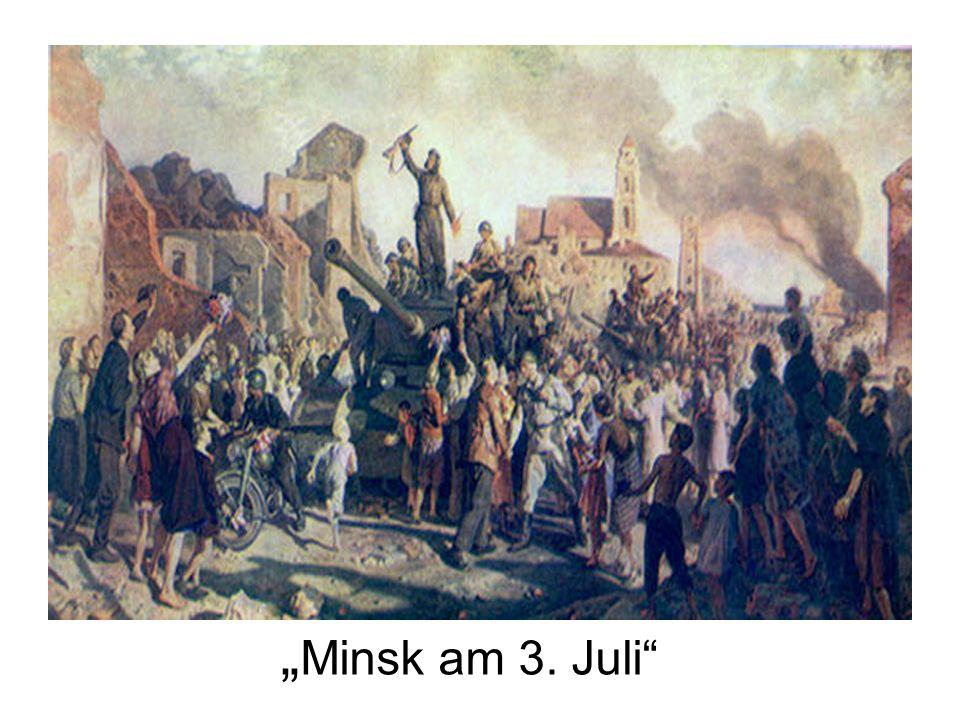Minsk am 3. Juli