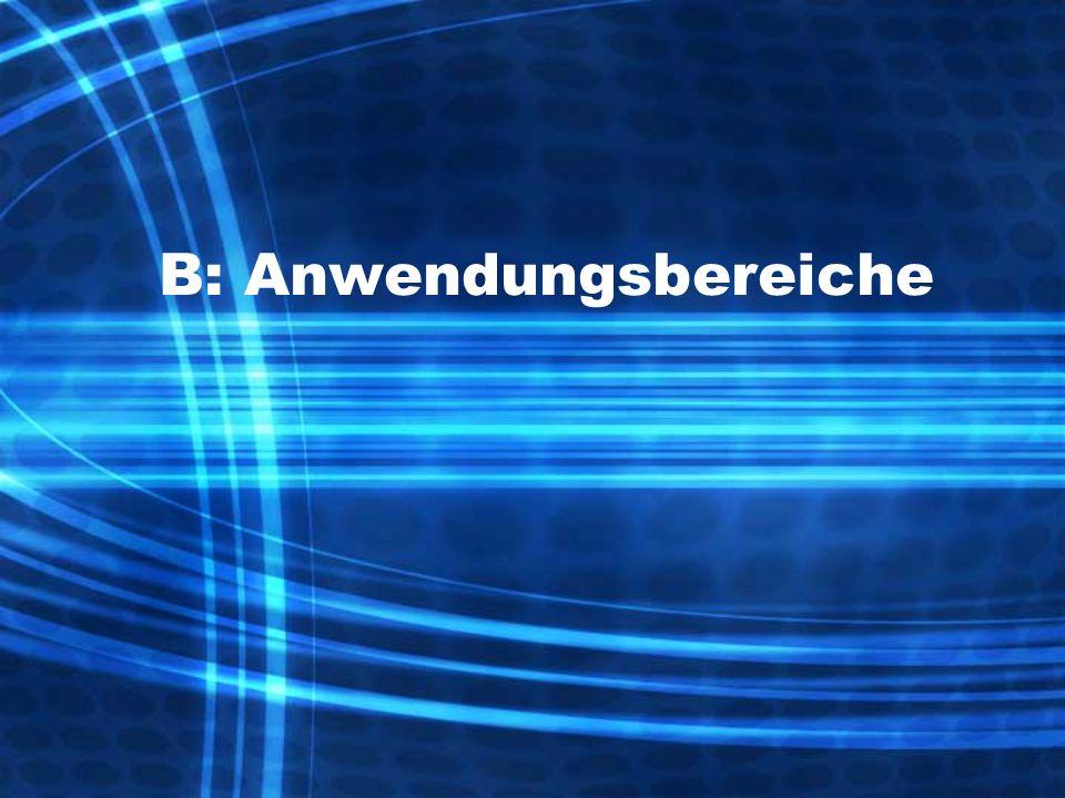 B: Anwendungsbereiche