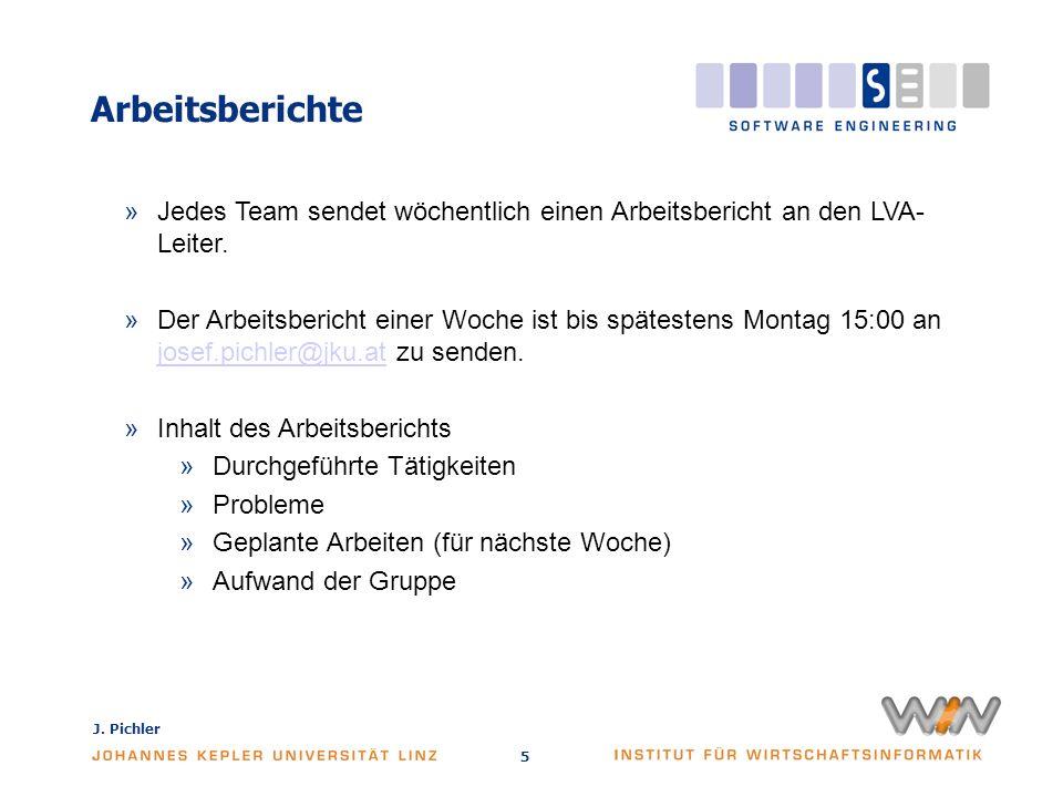 J.Pichler 6 Meilensteine »Anforderungskatalog »Spezifikation und Prototyp »1.