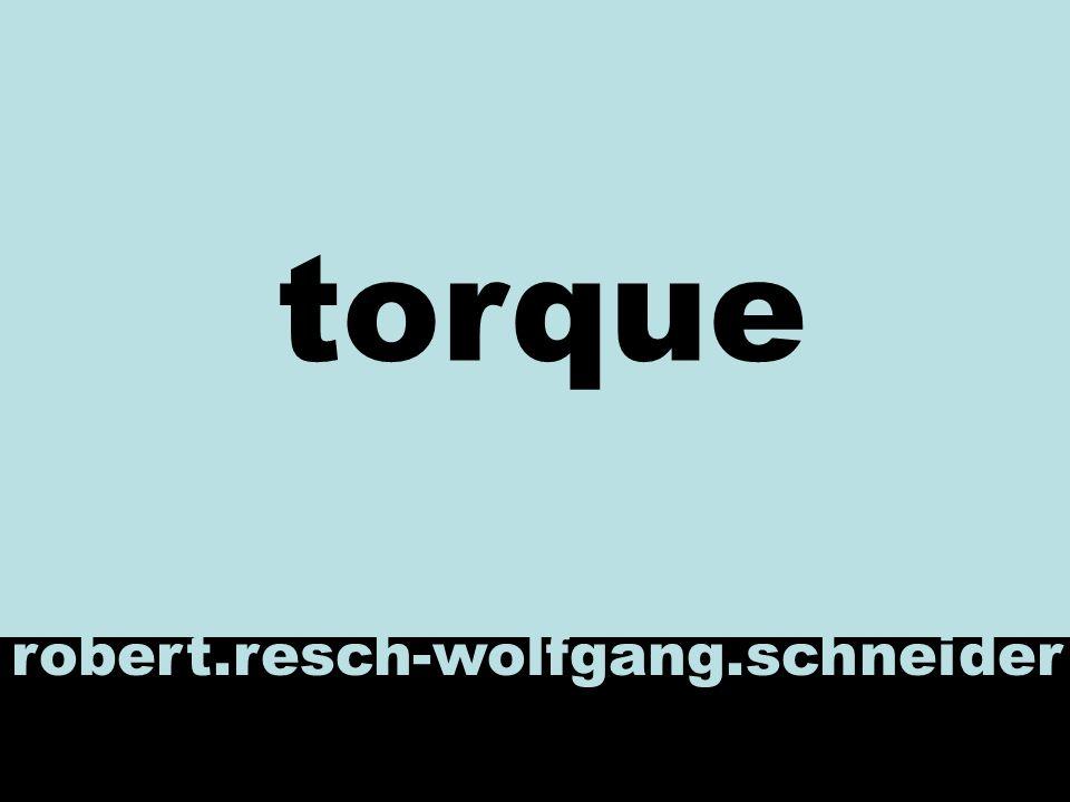 uebersicht Was ist Torque Komponenten von Torque Generator Erzeugte Klassen Methoden Torque in Turbine Demobeispiel