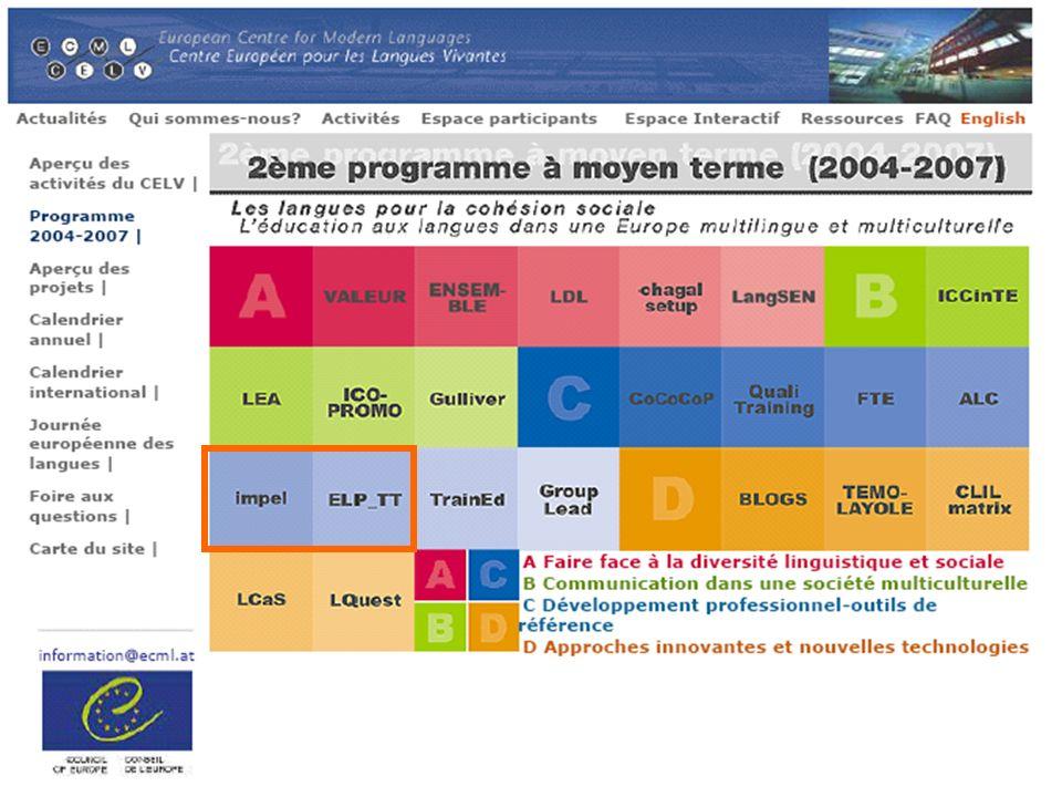 Project C 5 IMPEL ELP implementation support Soutien à la mise en oeuvre du PEL Schlusskonferenz Graz 2007-09-28 Hans Ulrich Bosshard, Koordinator IMPEL