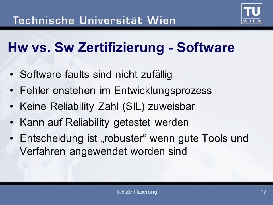 3.5 Zertifizierung17 Hw vs.