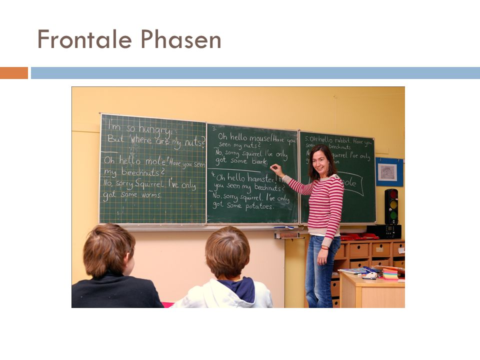 Frontale Phasen