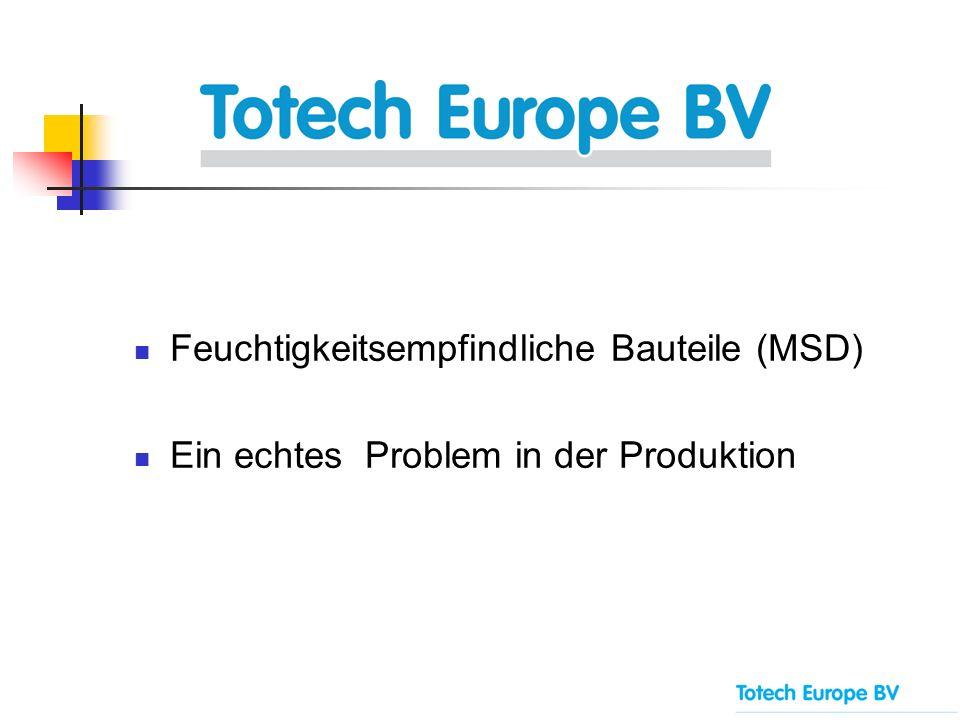 Feuchtigkeitsempfindliche Bauteile (MSD) Ein echtes Problem in der Produktion