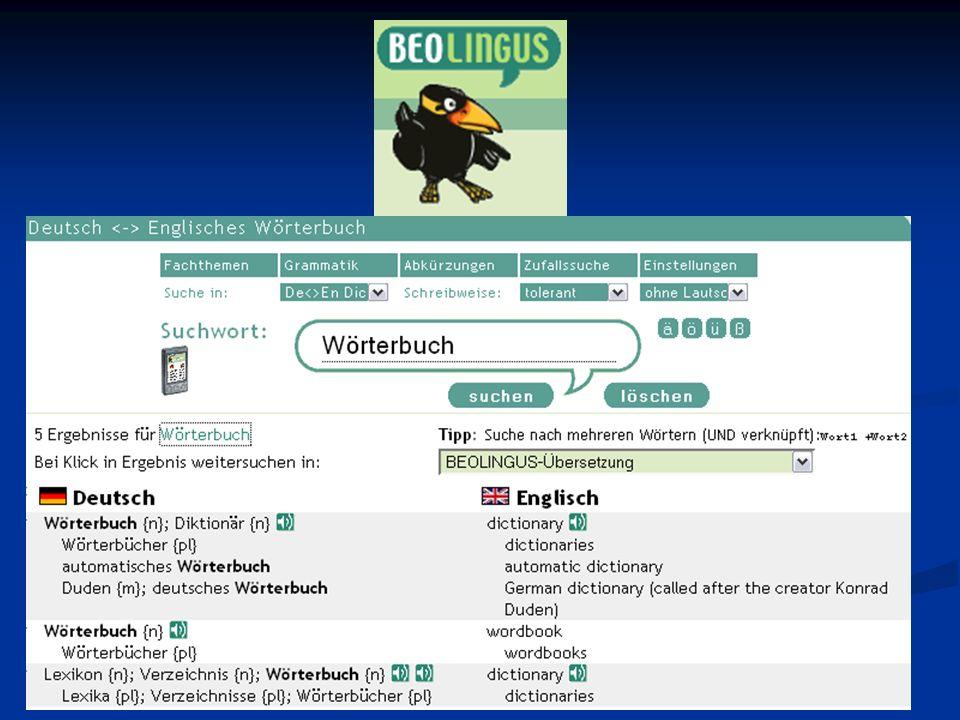 12 Online-Wörterbücher: Andrea Karner, Susi Luginger