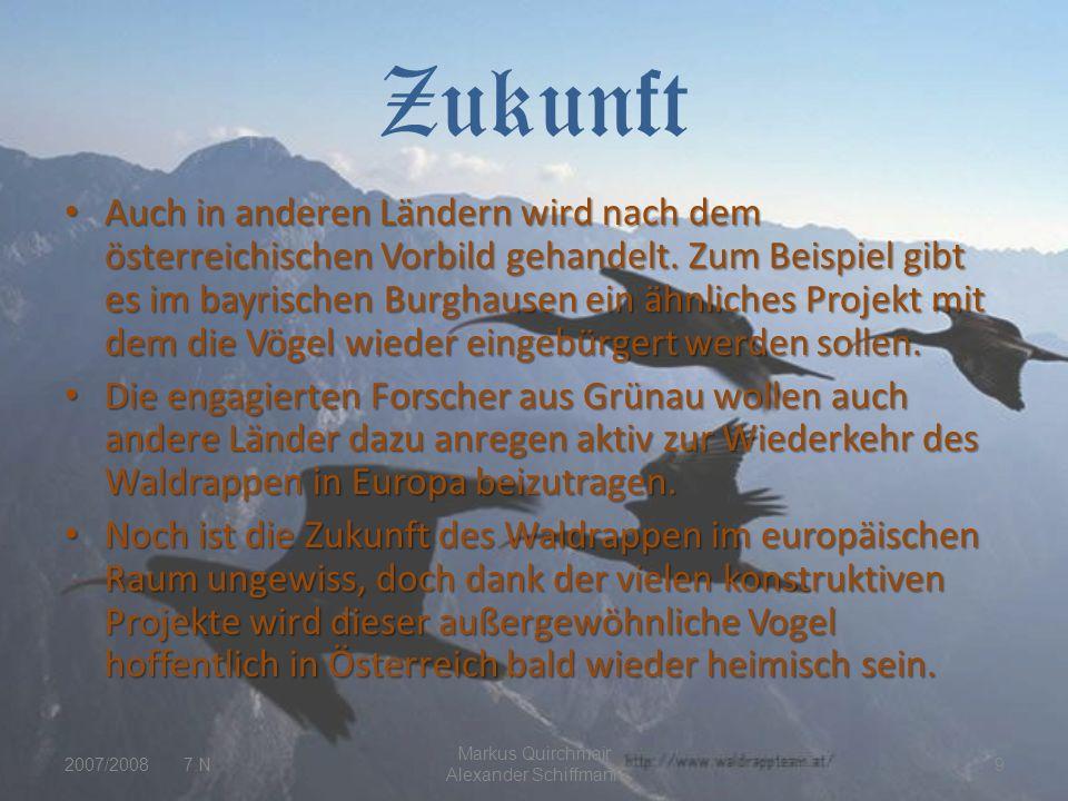 Zukunft Auch in anderen Ländern wird nach dem österreichischen Vorbild gehandelt.