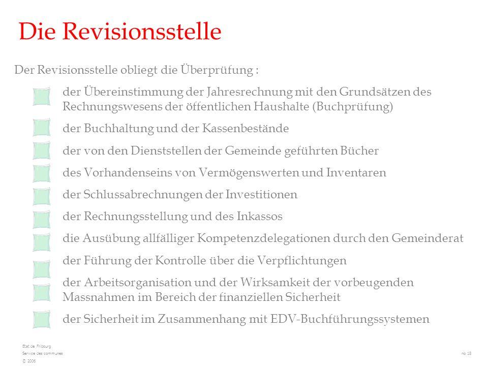 Die Revisionsstelle Der Revisionsstelle obliegt die Überprüfung : der Übereinstimmung der Jahresrechnung mit den Grundsätzen des Rechnungswesens der ö