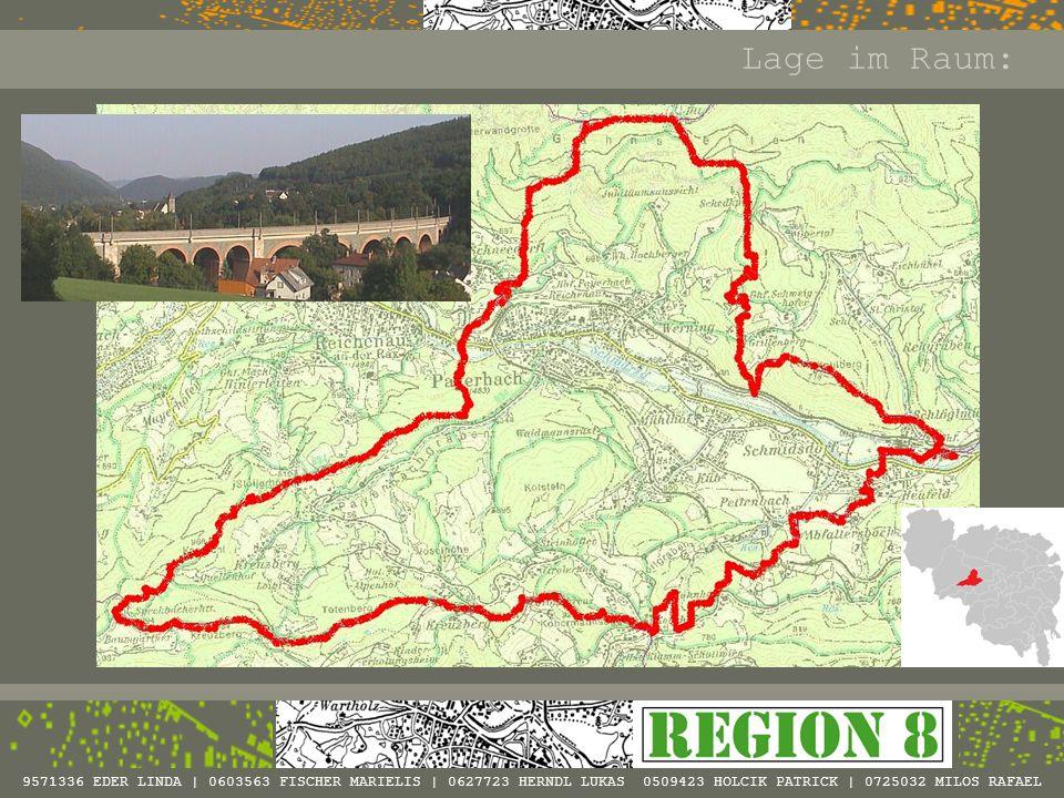 9571336 EDER LINDA | 0603563 FISCHER MARIELIS | 0627723 HERNDL LUKAS 0509423 HOLCIK PATRICK | 0725032 MILOS RAFAEL Naturräumliche Landschaftseinheiten der Gemeinde Payerbach