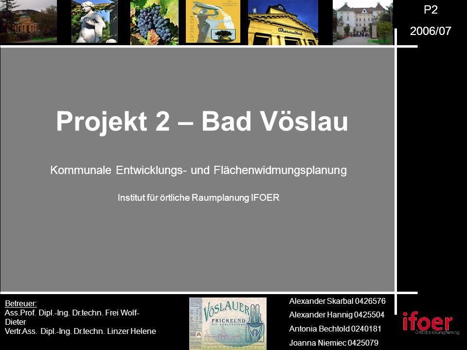 P2 2006/07 Betreuer: Ass.Prof. Dipl.-Ing. Dr.techn.