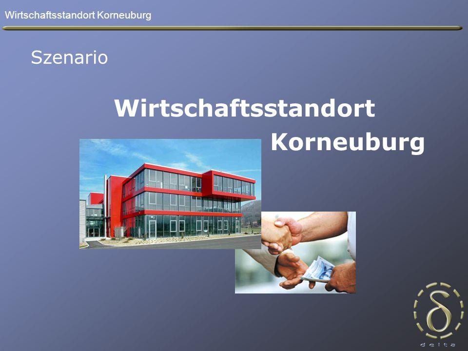 Wirtschaftsstandort Korneuburg Wirtschaftsstandort Korneuburg Szenario