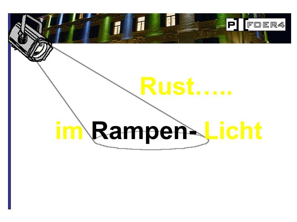 Rust….. im Rampen- Licht