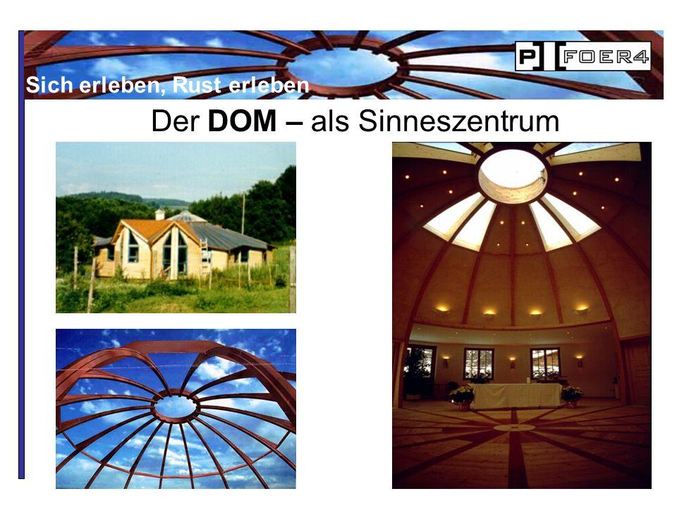 Der DOM – als Sinneszentrum Sich erleben, Rust erleben