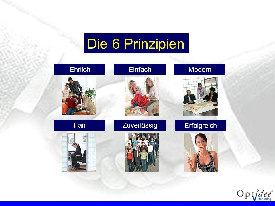 Die 6 Prinzipien Ehrlich Einfach FairZuverlässig Modern Erfolgreich