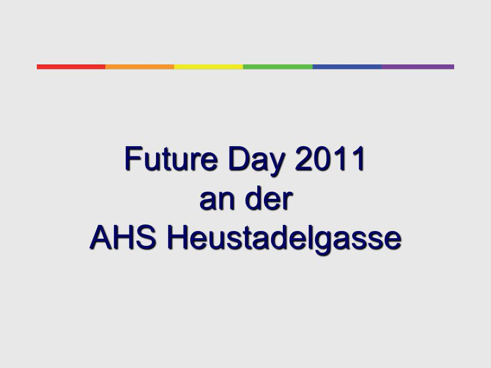 Die Unterstufe (ab 3. Kl.) an der AHS Heustadelgasse Future Day 2011
