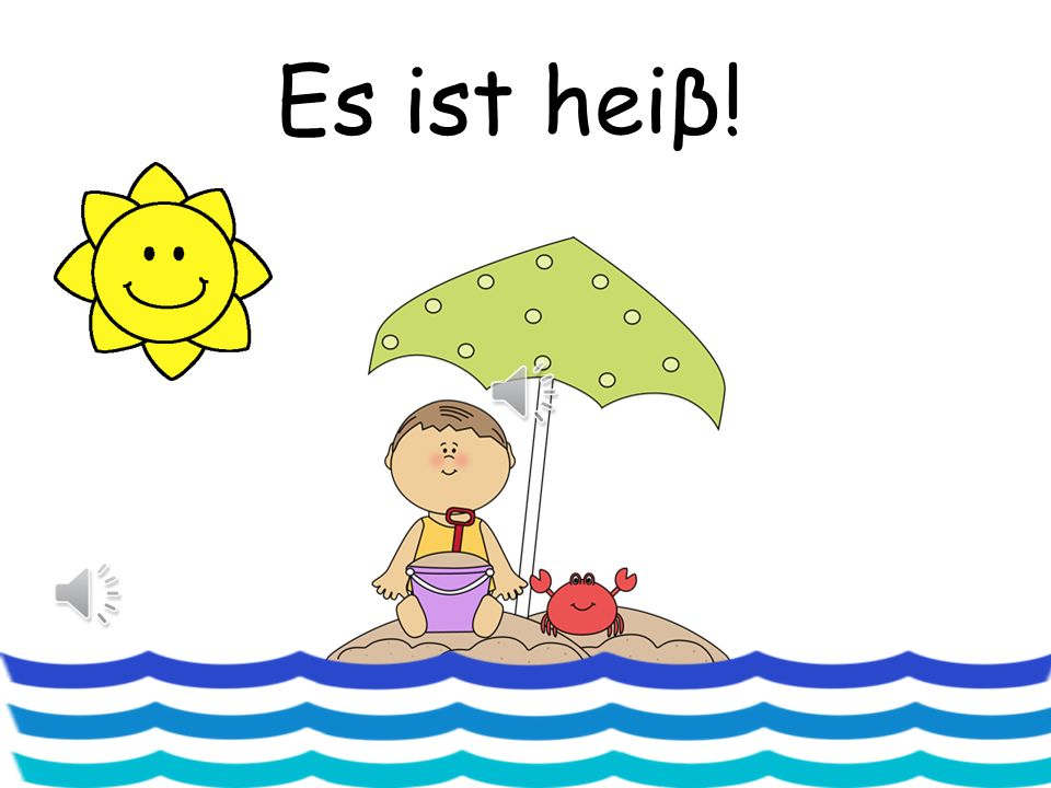 Wie ist das Wetter.Charades Teacher teaches actions to each of the weather phrases e.g.