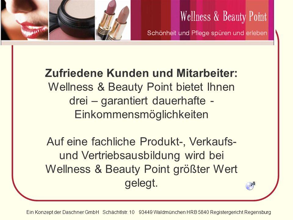 Ein Konzept der Daschner GmbH Schächtlstr. 10 93449 Waldmünchen HRB 5840 Registergericht Regensburg Wir können Sie zwar nicht jünger machen, aber ich