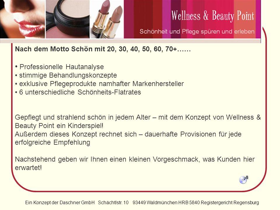 Ein Konzept der Daschner GmbH Schächtlstr. 10 93449 Waldmünchen HRB 5840 Registergericht Regensburg Das Konzept hat gleich mehrere Vorteile für Sie pa