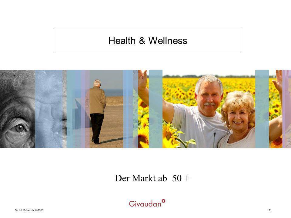 Dr. M. Fröschle 6-201221 Der Markt ab 50 + Health & Wellness