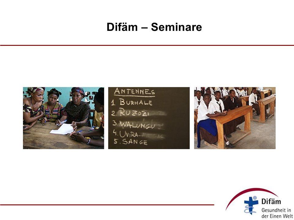 Difäm – Seminare