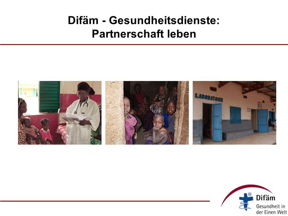 Difäm - Gesundheitsdienste: Partnerschaft leben