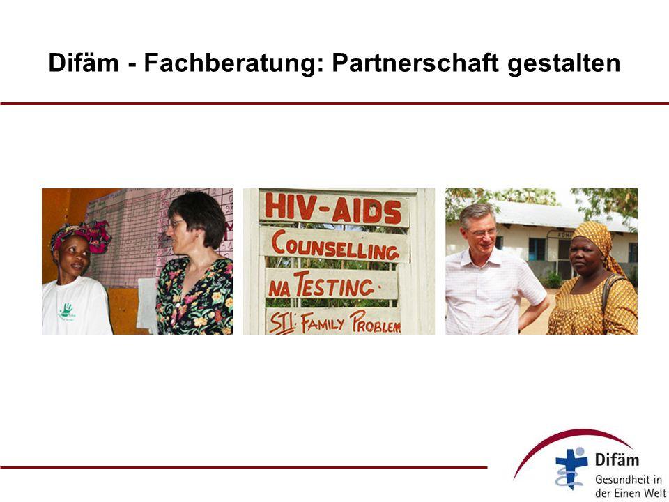 Difäm - Fachberatung: Partnerschaft gestalten