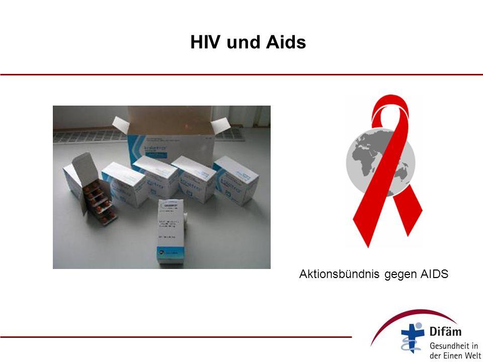 HIV und Aids Aktionsbündnis gegen AIDS