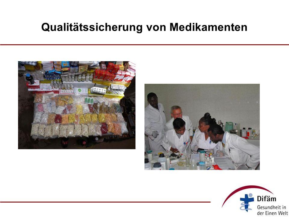 Qualitätssicherung von Medikamenten