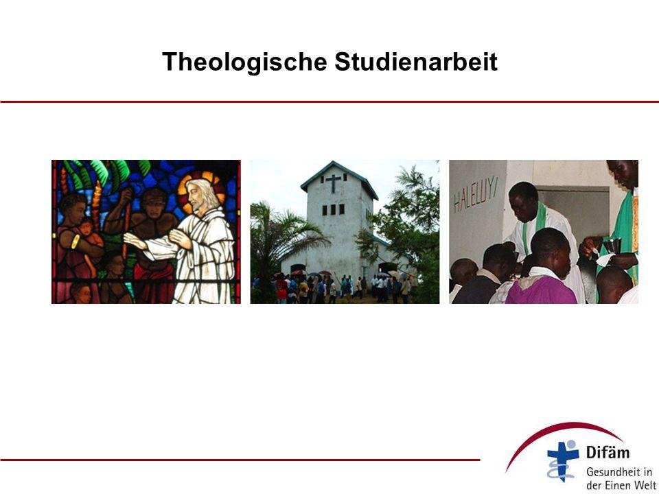 Theologische Studienarbeit