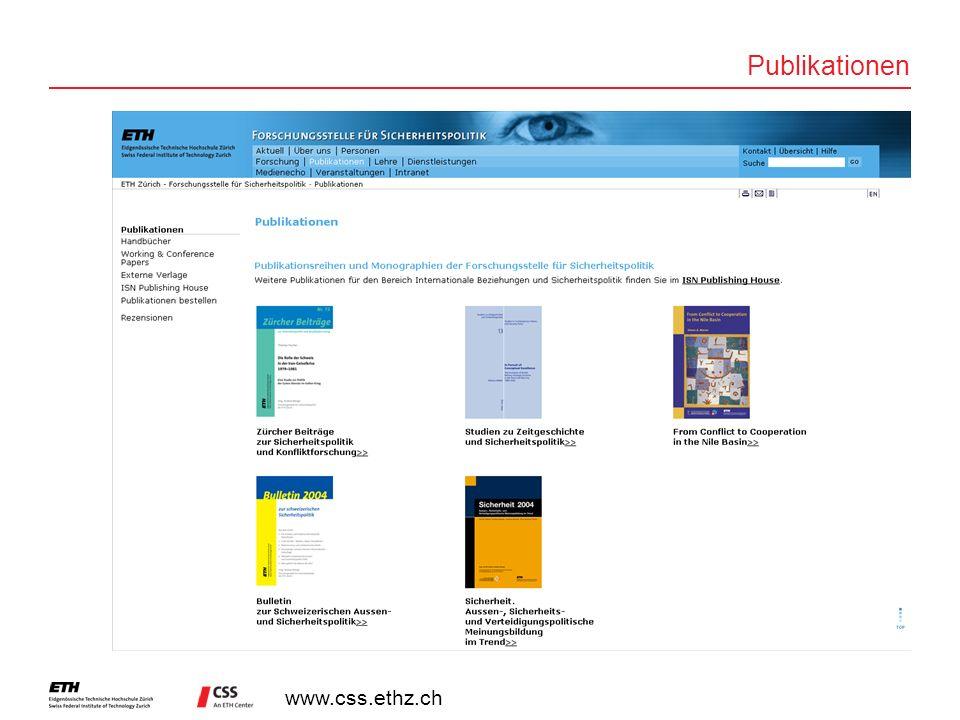 www.css.ethz.ch Publikationen