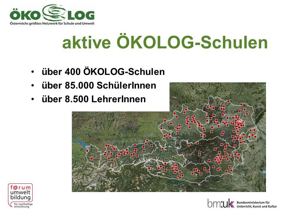 ÖKOLOG und Die QM-Instrumente, die im Rahmen von QIBB zur Verfügung stehen, können und sollen für die Planung, Umsetzung, Dokumentation, Evaluation und Auswertung der ÖKOLOG-Maßnahmen eingesetzt werden.