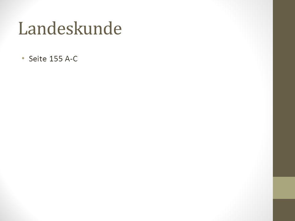 Landeskunde Seite 155 A-C