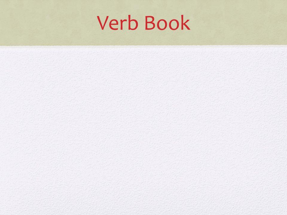 Verb Book