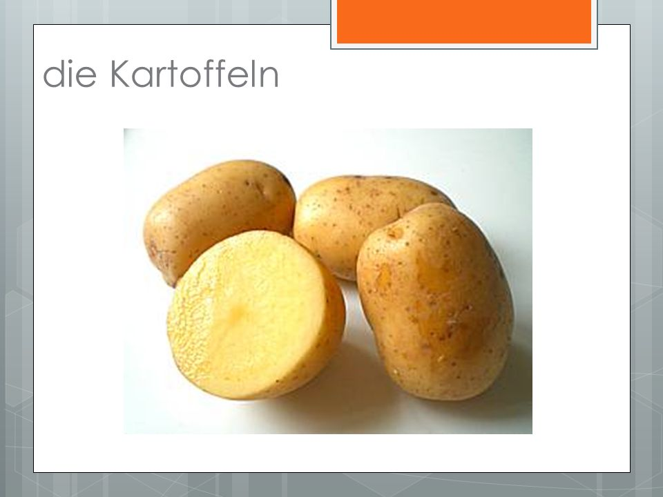 die Kartoffeln