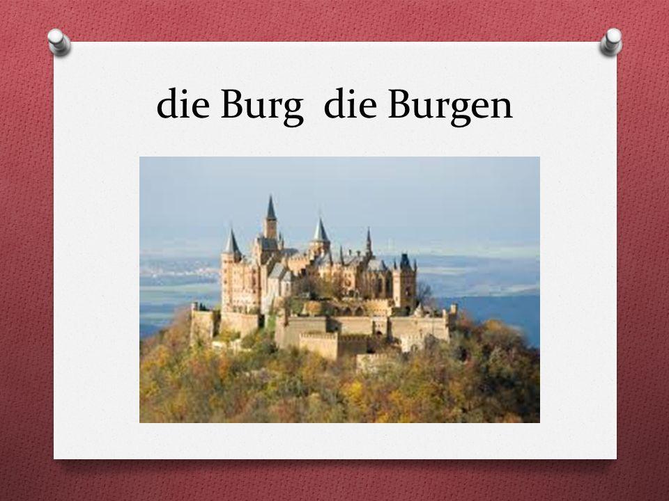 die Burg die Burgen