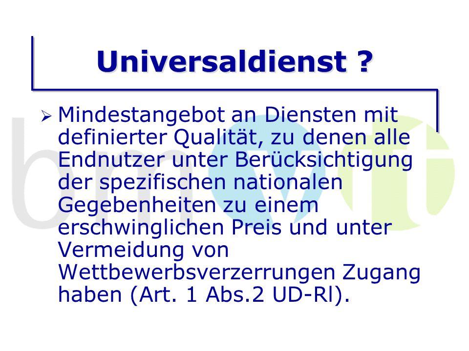 Universaldienst .