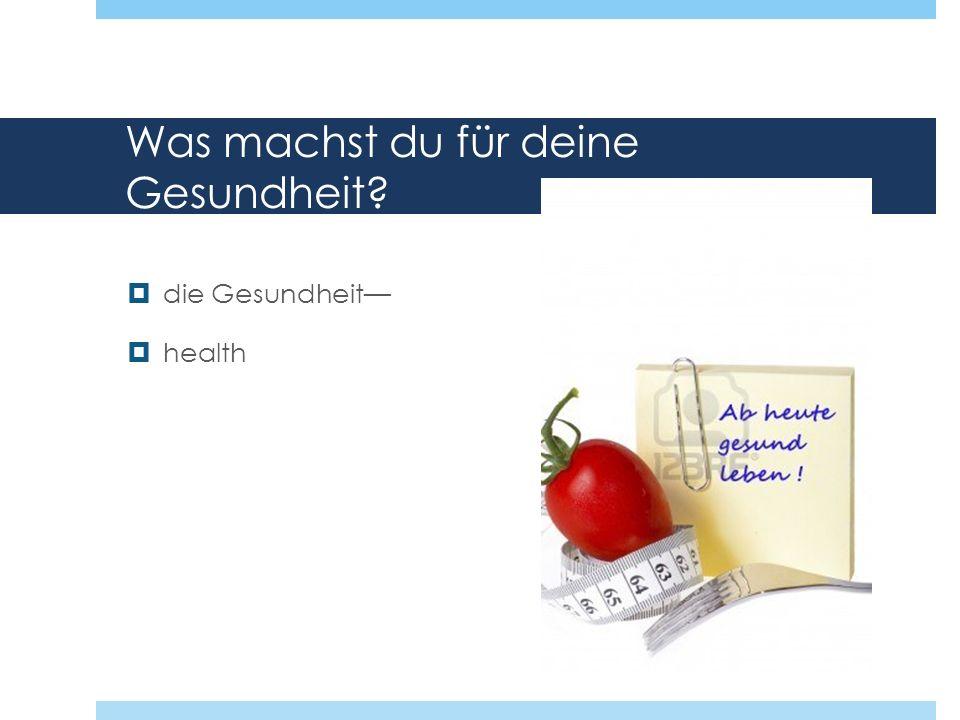 The verb schlafen Schlafen has a stem-vowel change in the du and er/sie forms.