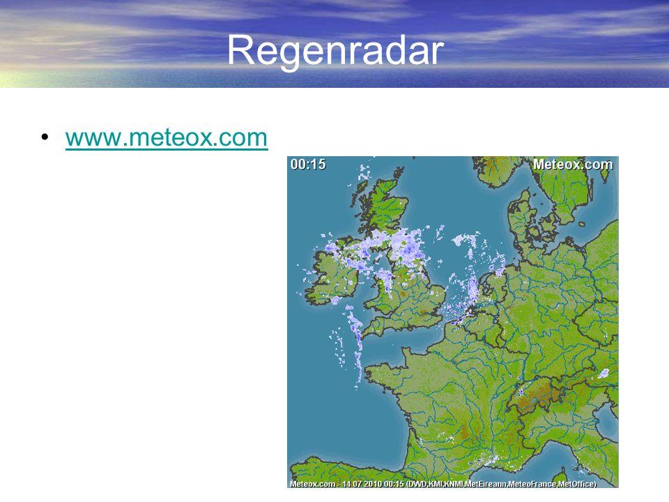 Regenradar www.meteox.com