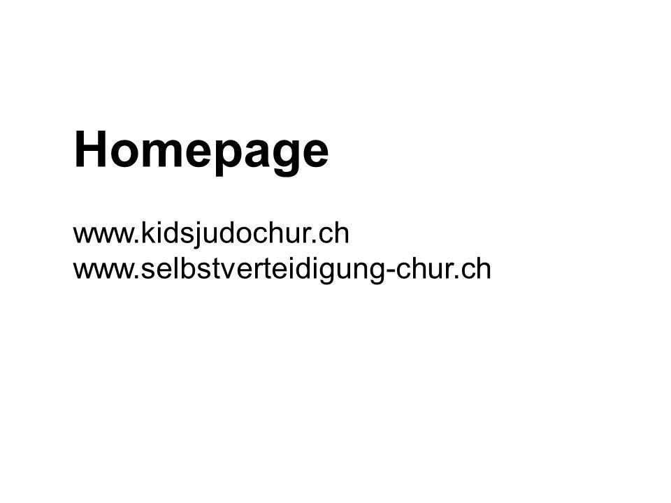 Homepage www.kidsjudochur.ch www.selbstverteidigung-chur.ch
