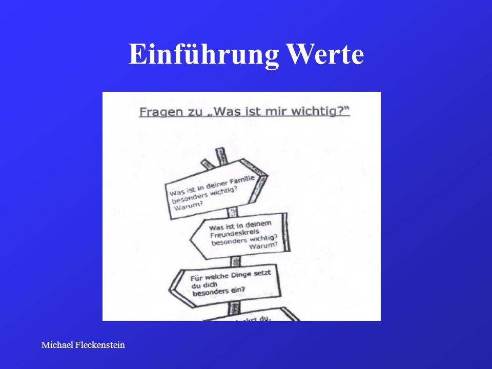Michael Fleckenstein Einführung Werte
