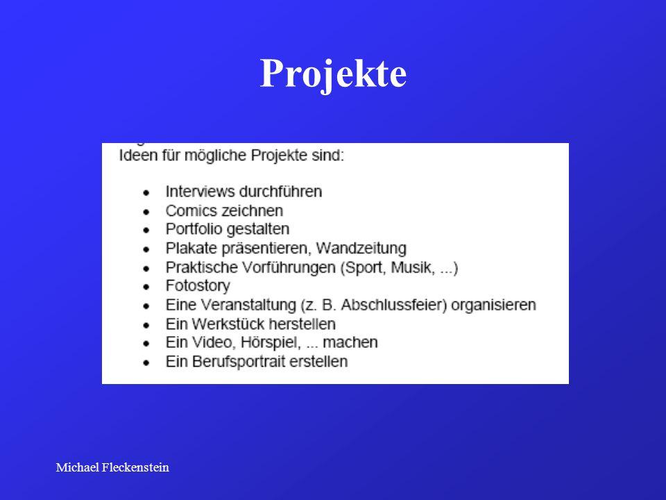 Michael Fleckenstein Projekte