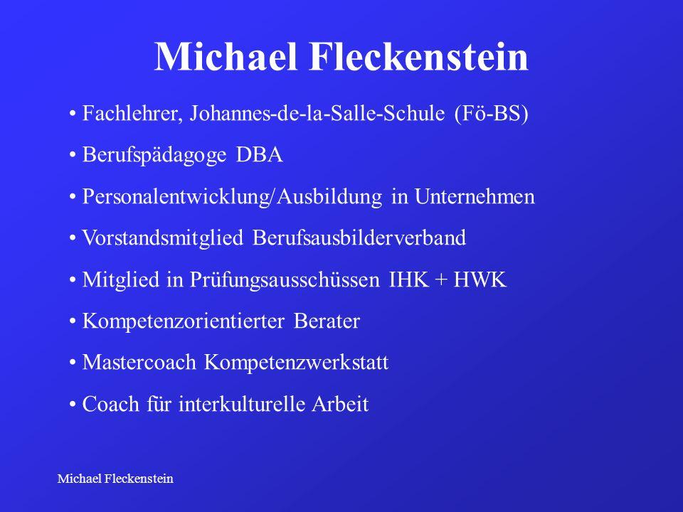 Fachlehrer, Johannes-de-la-Salle-Schule (Fö-BS) Berufspädagoge DBA Personalentwicklung/Ausbildung in Unternehmen Vorstandsmitglied Berufsausbilderverb