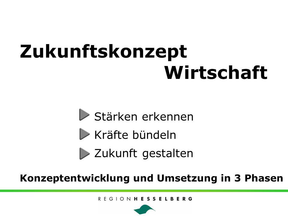 Zukunftskonzept - die Organisation Wirtschaftsförderung Landkreis Ansbach Entwicklungsgesellschaft Region Hesselberg GmbH Zukunftskonzept Wirtschaft Partner Wirtschaftsverbände Kammern und Innungen Regionale Unternehmen Kommunen